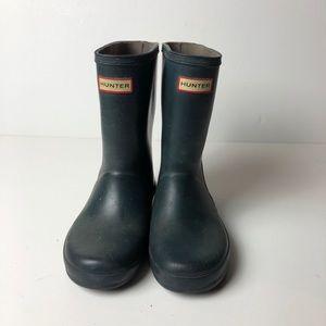 HUNTER Kids Classic Rain Boot Boy's Girls